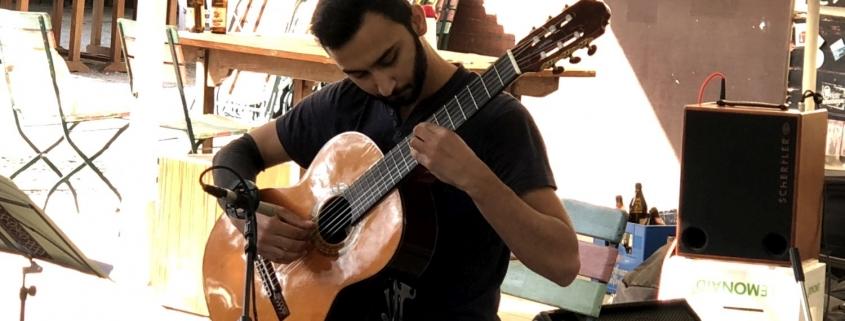 Yassar Khalfa beim Benefizkonzert von Assiston e.V.